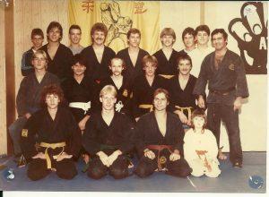 Alten Kampfsport Trainer