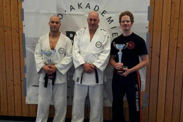 Jiu Jitsu Meisterschaft gewonnen