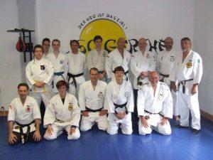 Trainer unseres Kampfsportvereins