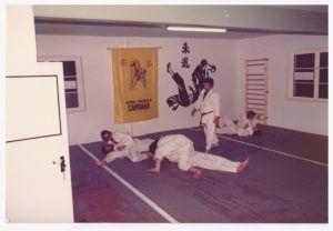 Jiu-Jitsu Trainingseinheit in den 80ern