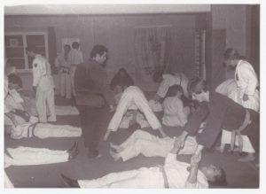 Jiu Jitsu training in den 80er Jahren